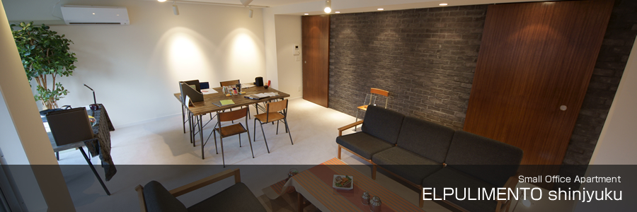Small Office Apartment ELPULIMENT shinjyuku