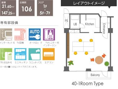 service soho / サービスソーホー   賃貸事務所(住居可)